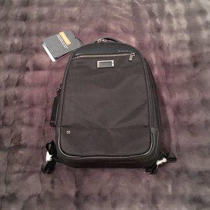 NWT: Briggs & Riley @Work Medium Backpack - Black